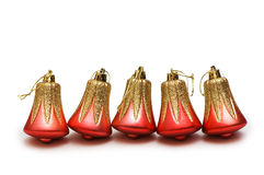 Christmas decorations in festive Stock Images