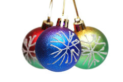 Christmas decorations in festive holiday Royalty Free Stock Image
