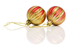 Christmas decorations in festive holiday Royalty Free Stock Photo