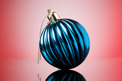 Christmas decorations in festive Royalty Free Stock Photos