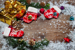 Christmas decorations. Royalty Free Stock Image