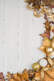 Christmas decorations frame Royalty Free Stock Photography