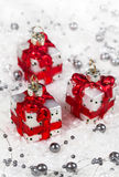 Christmas decorations gifts Royalty Free Stock Photos