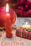 Christmas decorations and gifts Stock Images