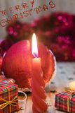 Christmas decorations and gifts Stock Photo