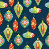 Christmas decorations. Hand-drawn illustration with Christmas to Stock Photos
