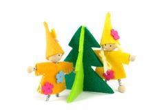 Christmas Decorations Handmade Stock Images