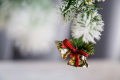 Christmas decorations, holiday home related concept Stock Image
