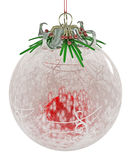 Christmas Decorations, Holly Ball Stock Photos