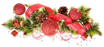 The christmas decorations Stock Image