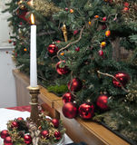 Christmas Decorations, Italy Royalty Free Stock Photo