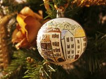 Christmas Decorations, Italy Stock Photos