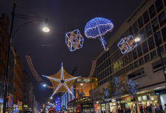 Christmas decorations , London Stock Images