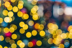 Christmas decorations in Moscow Stock Photos
