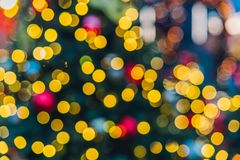 Christmas decorations in Moscow Royalty Free Stock Images