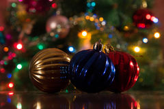 Christmas decorations for the new year Royalty Free Stock Photo