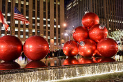 Christmas Decorations, New York Stock Images