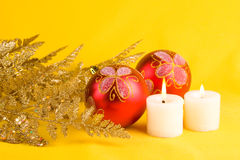Christmas decorations o Royalty Free Stock Photos