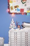 Christmas decorations in office Stock Photography