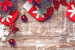 Christmas background 2018 Royalty Free Stock Image