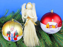 Christmas decorations Stock Photography