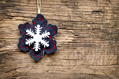 Christmas decorations with ornaments Stock Photos