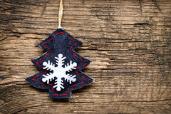Christmas decorations with ornaments Stock Images
