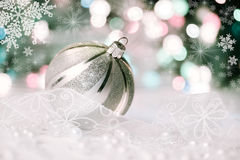 Christmas decorations, retro effect Stock Images
