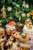Christmas decorations Santa Claus Royalty Free Stock Photography