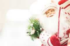 Christmas and christmas decorations of Santa Claus Royalty Free Stock Photos