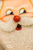 Christmas decorations - santa's face Royalty Free Stock Images