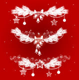 Christmas decorations set Stock Images