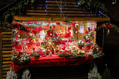 Christmas Decorations Shop Stock Photo
