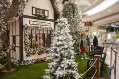 Christmas decorations at shopping - São Paulo Stock Images