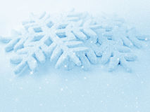 Christmas decorations - snowflakes royalty free stock photo