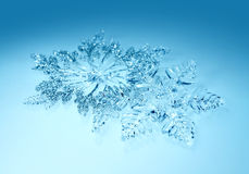Christmas decorations snowflakes Royalty Free Stock Images