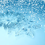 Christmas decorations snowflakes Stock Photography