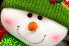 Christmas decorations - snowman Stock Photo