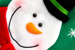 Christmas decorations - snowman Royalty Free Stock Photo