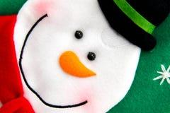 Christmas decorations - snowman Royalty Free Stock Photo