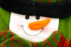 Christmas decorations - snowman Royalty Free Stock Photos