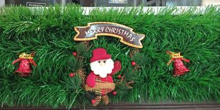 Christmas decorations from Sri Lanka stock photography