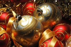 Christmas decorations still life Stock Photography