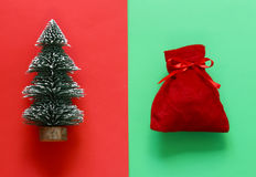 Christmas decorations. Sweets and ornaments. Stock Photography