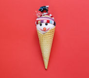 Christmas decorations. Sweets and ornaments. Stock Image