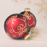 Christmas decorations, toned image Stock Image