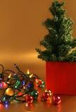 christmas decorations tree Στοκ Εικόνες