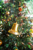 Christmas decorations and tree Royalty Free Stock Photography