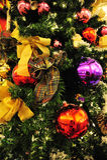 christmas decorations tree στοκ φωτογραφία