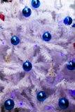 Christmas decorations on tree Royalty Free Stock Photo